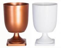 Copper and White
