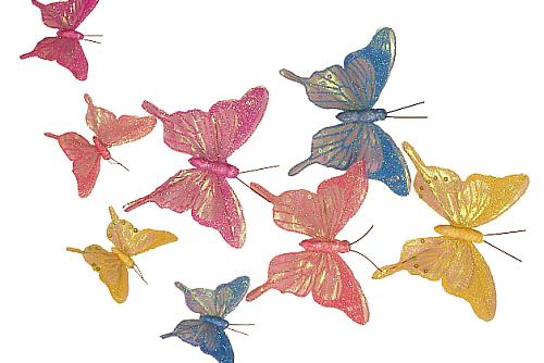 Glittered Butterflies Thumb